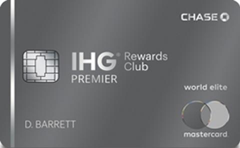 IHG® Rewards Club Premier Credit Card